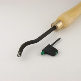 swan neck carbide woodturning tool
